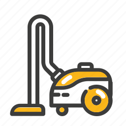 cleaner, dust, floor, house, set, vacuum cleaner icon