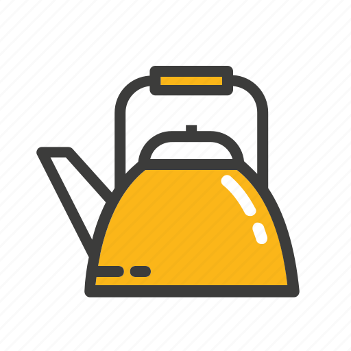 hot, set, tea, tea pot icon