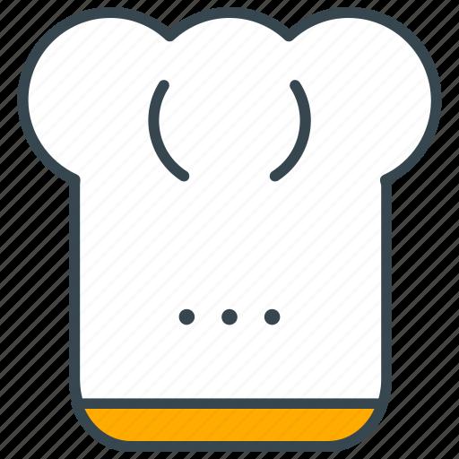 Chef, cook, cuisine, food, hat, kitchen, restaurant icon - Download on Iconfinder