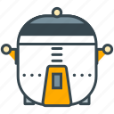 appliance, chef, cooker, electric, home, kitchen, steamer icon