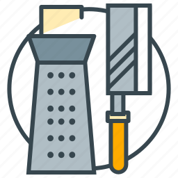 chef, cook, cooking, kitchen, knife, knives, utensils icon