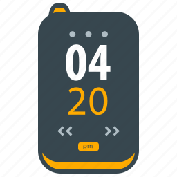 alarm, clock, device, digital, egg timer, time, timer icon