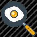 chef, cook, egg, frying, kitchen, pan, skillet