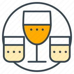 drink, drinking glass, drinks, glass, glasses, glassware, wine glass icon