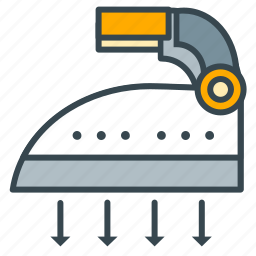 clothes, flat-iron, home, household, iron, laundry, pressing icon