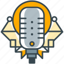 concert, karaoke, mic, microphone, music, sing, stereo icon