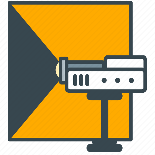 appliance, beamer, cinema, device, electronics, projector, tv icon