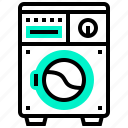 appliance, electric, home, machine, washing icon
