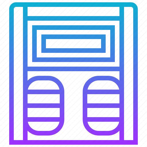 appliance, bathroom, electric, home, scale icon
