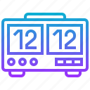 appliance, clock, digital, electric, home icon