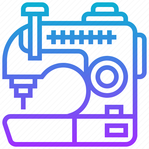 appliance, electric, home, machine, sewing icon