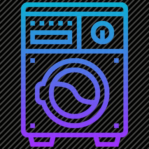 appliance, electric, home, machine, washing icon