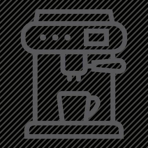 appliance, coffee, cup, drink, kitchen, machine, maker icon