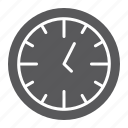 clock, dial, hour, minute, office, time, watch icon