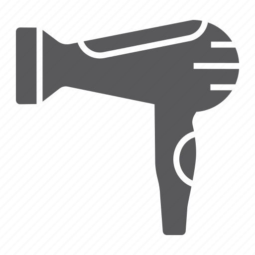 Air, barber, blow, dryer, electronic, hair, hot icon - Download on Iconfinder