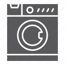 appliance, electronic, home, household, machine, washing icon