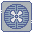 exhaust, fan, kitchen, ventilation icon
