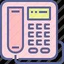 dial, landline, receiver, telephone icon