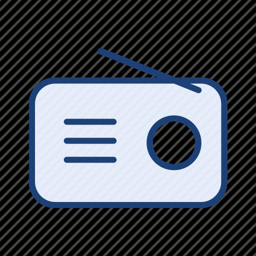 audio, communication device, fm, radio icon