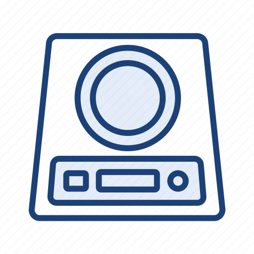 electric stove, induction stove icon