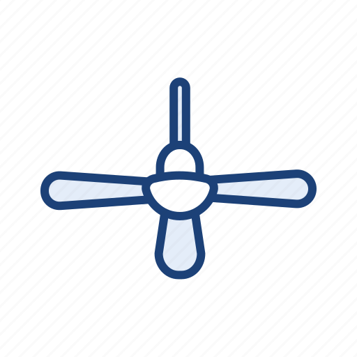 ceiling fan, fan, home appliances icon