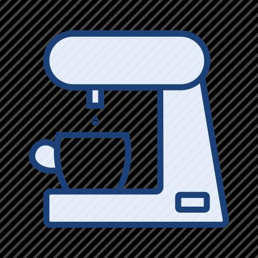 coffee machine, coffee maker, home appliances icon