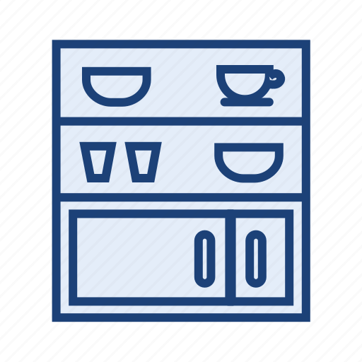 cupboard, furniture, kitchen, shelf icon