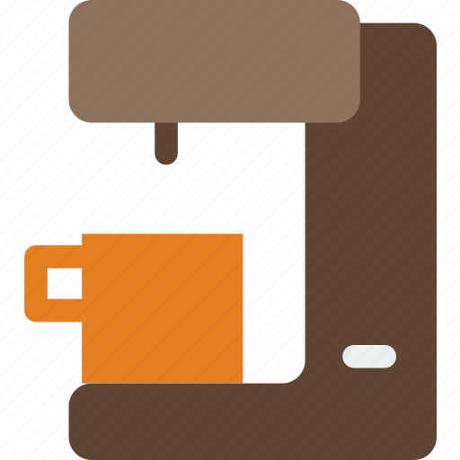 appliances, coffee, cup, drink, kitchen, maker icon