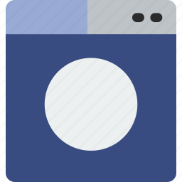 cleaning, clothes, electric, laundry, machine, washing icon