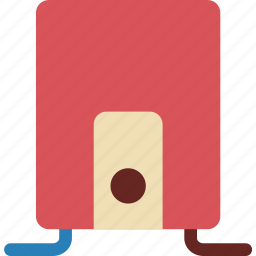 appliance, appliances, heat, heater, home, water icon