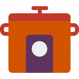 appliances, cook, cooking, crock, kitchen, pot icon
