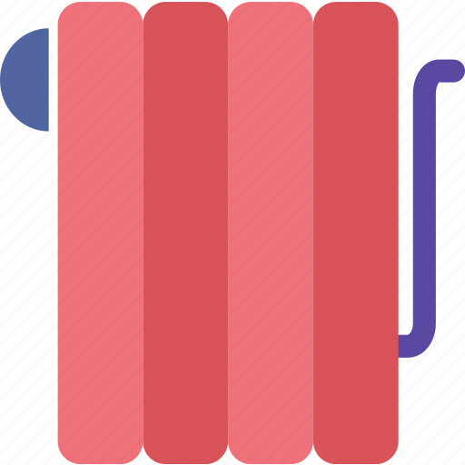 electric, energy, heat, heater, radiator, winter icon