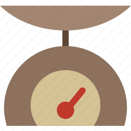appliances, cooking, food, kitchen, scale, weight icon