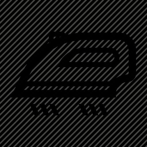 appliance, electrical, iron, ironing, vapor icon