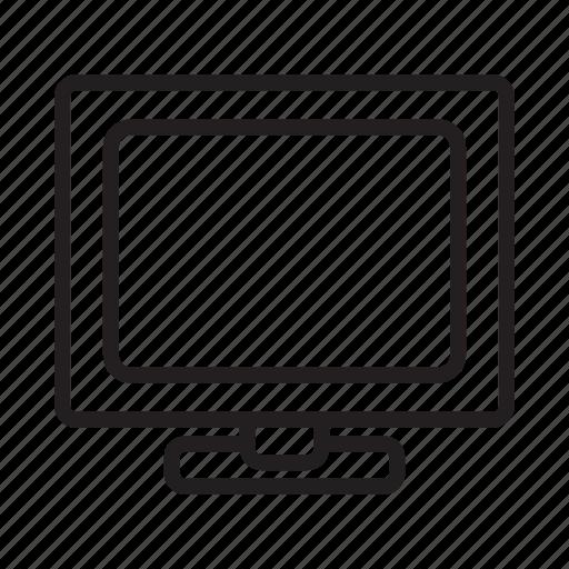 appliance, computer, display, monitor, pc, tv, tv-set icon