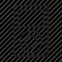 audio, mp3, music, player, portable, walkman icon