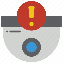 alert, automation, camera, cctv, home, security icon