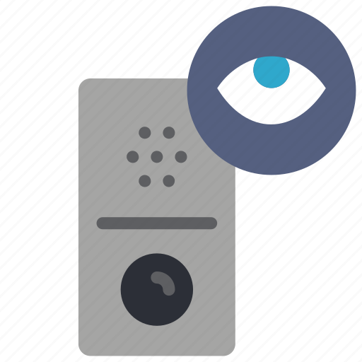 automation, doorbell, home, view icon