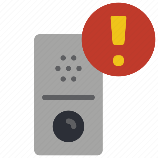alert, automation, doorbell, home icon