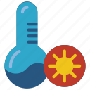 automation, heating, home, hot, temperature icon