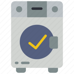 automation, complete, home, machine, utility, washing icon