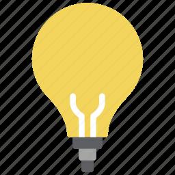 automation, bulb, home, light, lightbulb icon