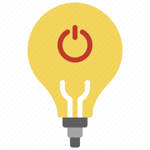 automation, bulb, home, light, lightbulb, off icon
