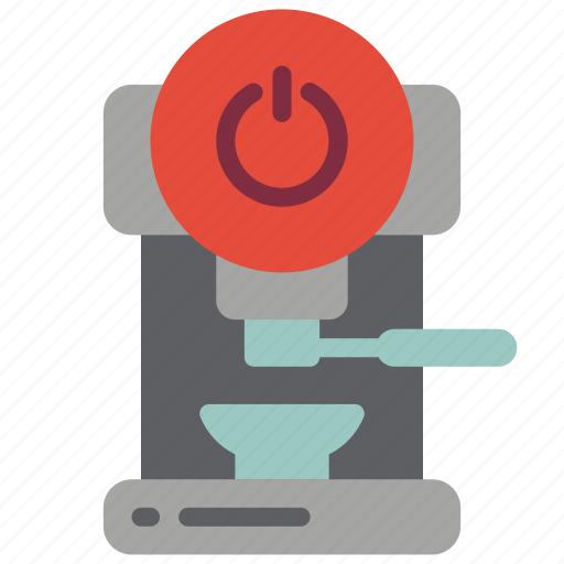 automation, coffee, home, machine, off, utlity icon