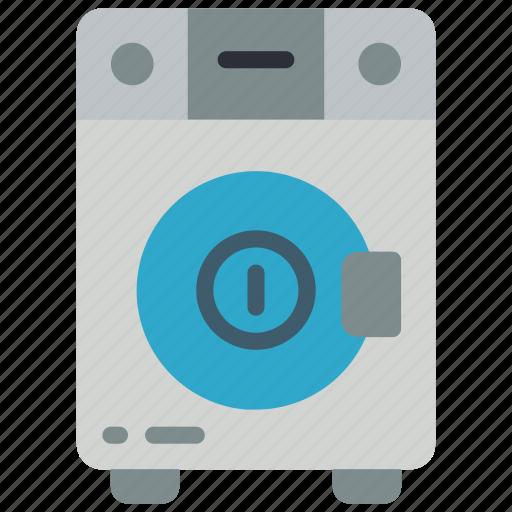 automation, home, machine, on, utlity, washing icon