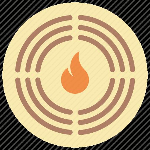 alarm, automation, fire, home, sensor icon