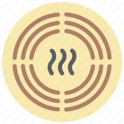 alarm, automation, home, sensor, smoke icon