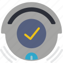 automation, complete, home, roomba, vacuum icon