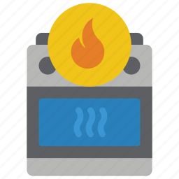 automation, cooker, home, hot, oven icon