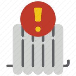 automation, heating, home, radiator, remote, timer icon